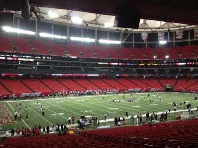 Georgia Dome, section: 121, row: 29, seat: 8