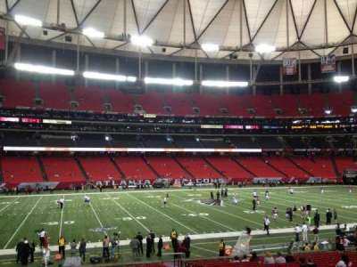 Georgia Dome section 119