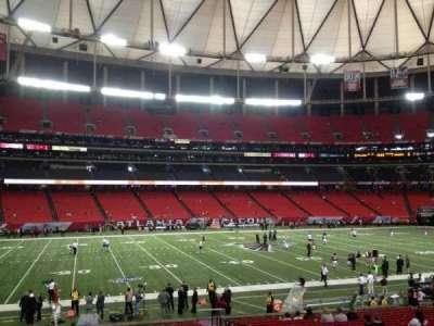 Georgia Dome, section: 119, row: 36, seat: 1