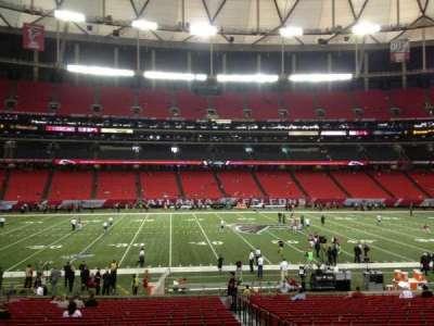Georgia Dome, section: 118, row: 24, seat: 16
