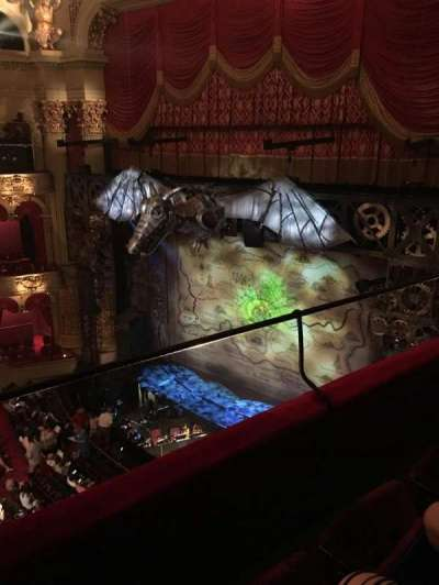 Academy of Music, section: Family Circle B, row: B, seat: 42
