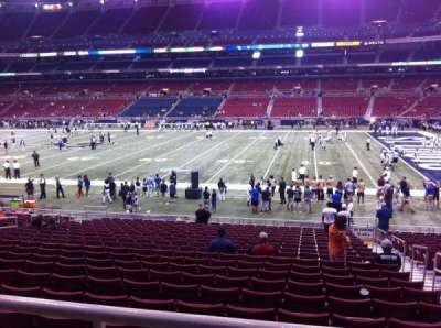 The Dome at America's Center, section: 111, row: U, seat: 2