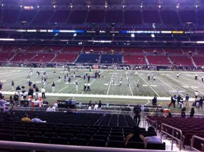 The Dome at America's Center, section: 113, row: U, seat: 2