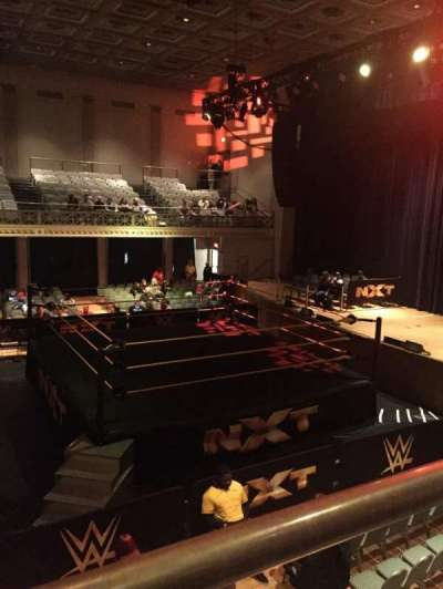 War Memorial Auditorium, section: Tier 12 Front, row: 1, seat: A6