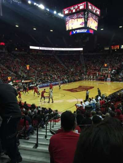Thomas & Mack Center, section: 120, row: E, seat: 13