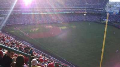 Angel Stadium section V536