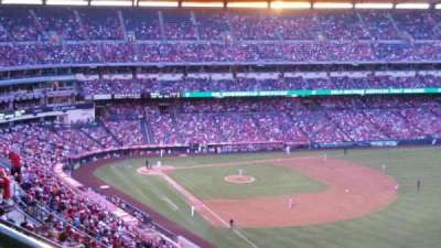 Angel Stadium section 536