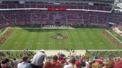 Levi's Stadium, section: 412, row: 18, seat: 12