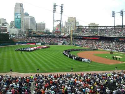 Comerica Park, section: champions club