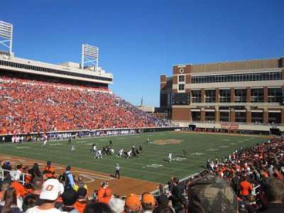 Boone Pickens Stadium, section: 211, row: 14, seat: 1