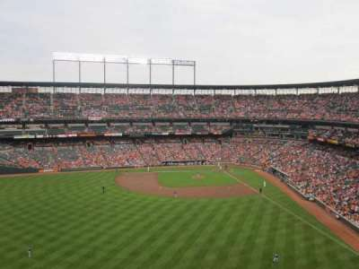 Oriole Park at Camden Yards section 386