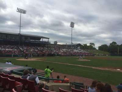 Fifth Third Ballpark, section: 105, row: G, seat: 18