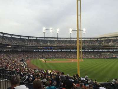 Comerica Park, section: 109, row: 39, seat: 12