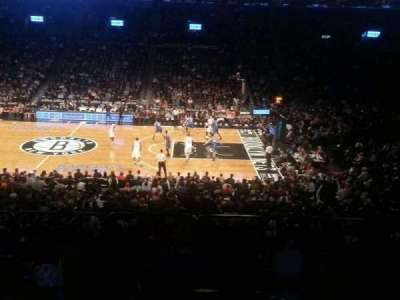 Barclays Center, section: 123, row: 6, seat: 12
