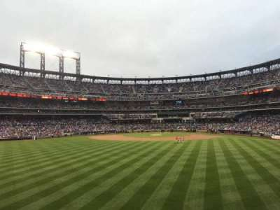 Citi Field, section: 138, row: 2, seat: 17