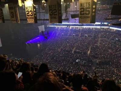 Barclays Center, section: 222, row: 18, seat: 2