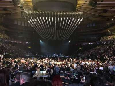 Madison Square Garden, section: 2, row: 15, seat: 12