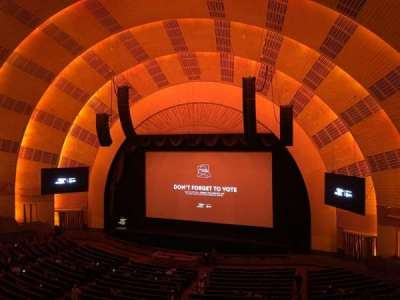 Radio City Music Hall, section: 2nd Mezzanine 2, row: A, seat: 211