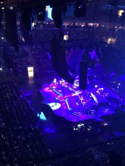 Madison Square Garden, section: 313, row: BS3, seat: 16