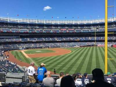 Yankee Stadium, section: 208, row: 7, seat: 13