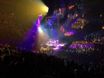Madison Square Garden, section: 116, row: 22, seat: 9