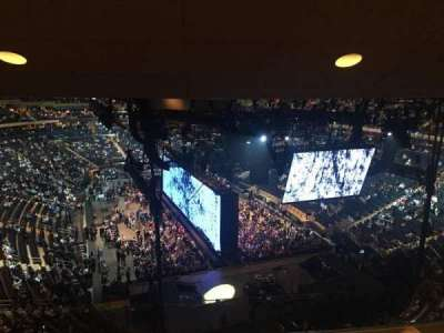 Madison Square Garden, section: 415, row: 4, seat: 15