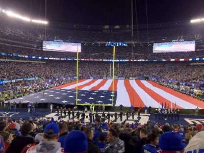 MetLife Stadium  section 101
