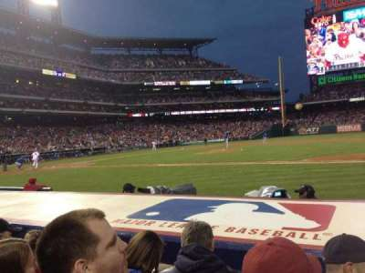 Citizens bank park  section 116