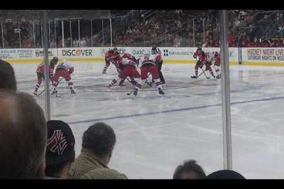 Prudential Center, section: 21, row: 3, seat: 5