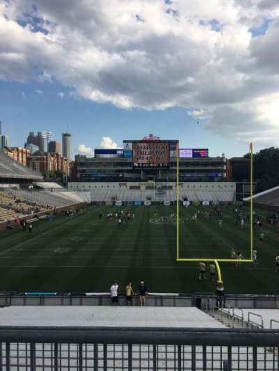Bobby Dodd Stadium, section: 117, row: 25, seat: 6
