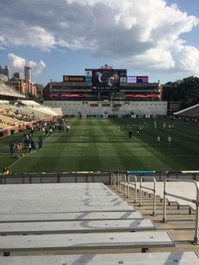 Bobby Dodd Stadium, section: 118, row: 23, seat: 20