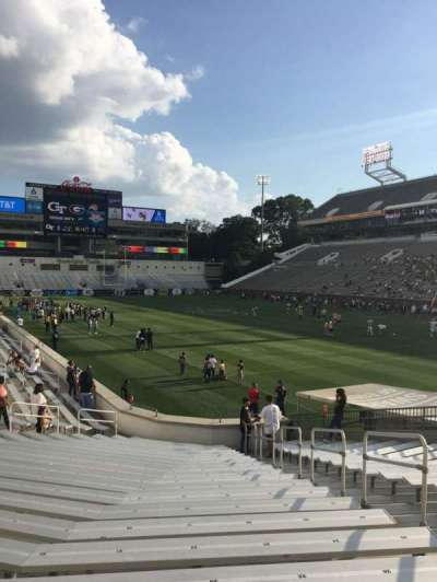 Bobby Dodd Stadium, section: 120, row: 22, seat: 27