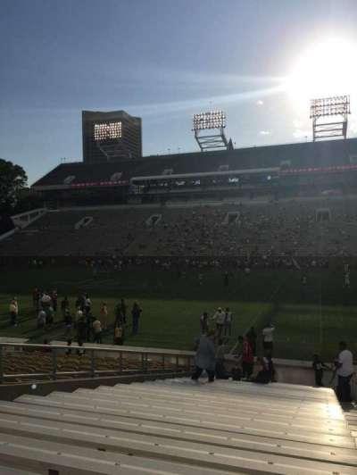 Bobby Dodd Stadium, section: 124, row: 22, seat: 22