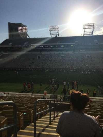 Bobby Dodd Stadium, section: CL-1, row: 20, seat: 1