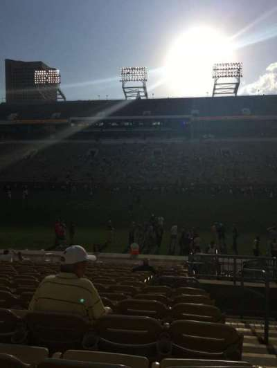 Bobby Dodd Stadium, section: CL-2, row: 18, seat: 28