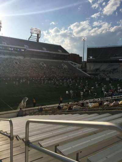 Bobby Dodd Stadium, section: 128, row: 22, seat: 21