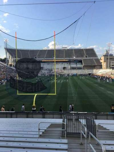 Bobby Dodd Stadium, section: 134, row: 22, seat: 33