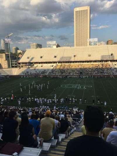 Bobby Dodd Stadium, section: 105, row: 44, seat: 24