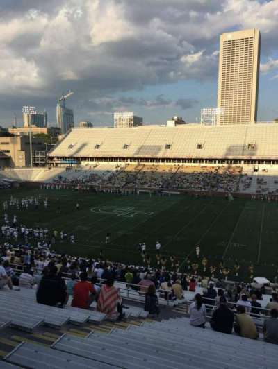Bobby Dodd Stadium, section: 103, row: 44, seat: 19