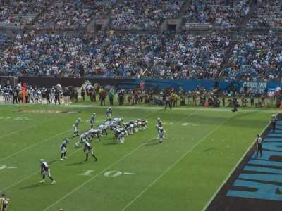 Bank of America Stadium section 311