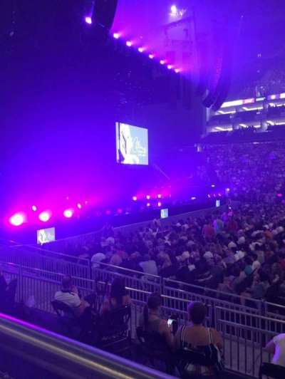 The O2 Arena, section: 101, row: H, seat: 42