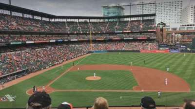 Oriole Park at Camden Yards section 222