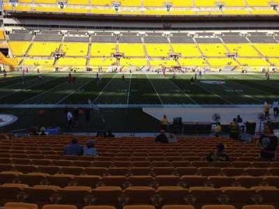 Heinz Field, section: 133, row: T, seat: 10