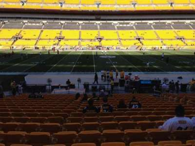 Heinz Field, section: 134, row: T, seat: 10