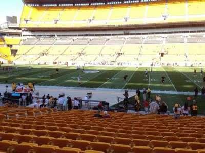 Heinz Field, section: 136, row: T, seat: 10