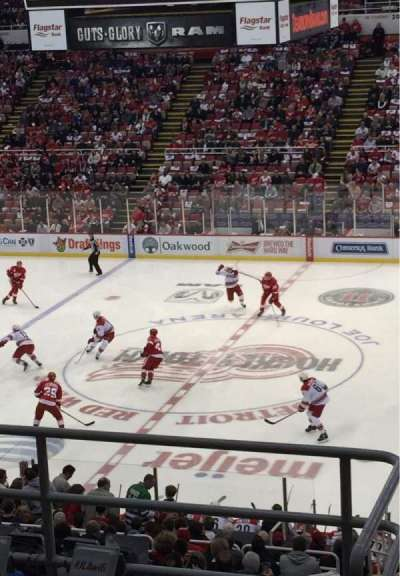 Joe Louis Arena section 220