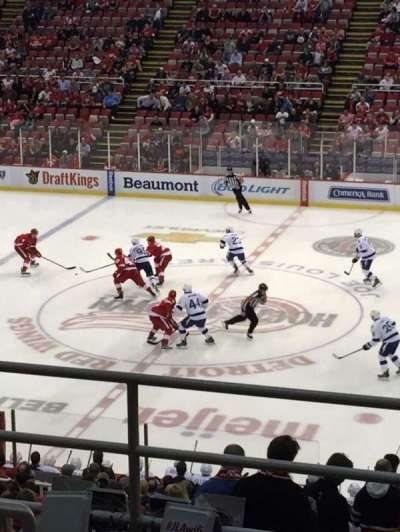 Joe Louis Arena, section: 220, row: 6, seat: 12