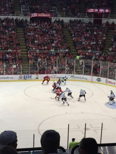 Joe Louis Arena, section: 220, row: 6, seat: 10