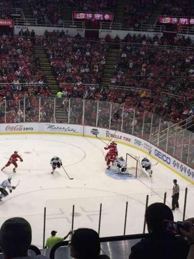 Joe Louis Arena, section: 220, row: 6, seat: 10