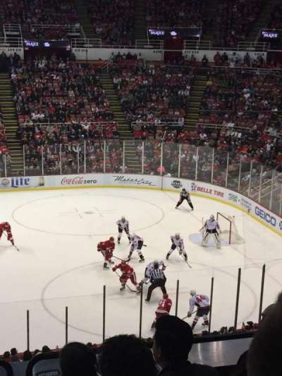 Joe Louis Arena, section: 220, row: 6, seat: 9